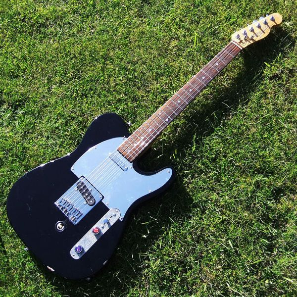 Guitar angel case study fender telecaster fitted with a for Bender fender template