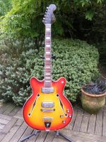 1966 Fender coronado. body edge repair and electrics service © 2021 Guitar Angel
