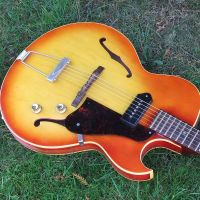 1965 Gibson ES125 fretwork and set up © 2021 Guitar Angel