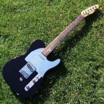 Fender Telecaster fitted with a Parsons Green Hipshot B Bender © 2018 Guitar Angel