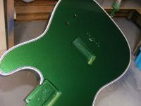 racing green metallic nitrocellulose © 2020 Guitar Angel