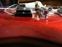 Gibson SG deluxe neck reset © 2018 Guitar Angel