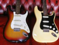 2 '70's Fender strats © 2017 Guitar Angel