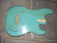 Fender precision bass body restoration nitro relic daphne blue © 2018 Guitar Angel