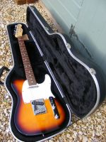 Fender telecaster 1995 3 tone sunburst © 2018 Guitar Angel