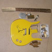 Danelectro guitarlin rebuild and refinish © 2018 Guitar Angel