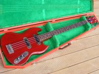 70's Gibson SB400 bass, complete refurbishment and refinish cherry nitro © 2020 Guitar Angel