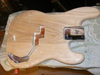 Fender precision bass body restoration 1976 © 2019 Guitar Angel
