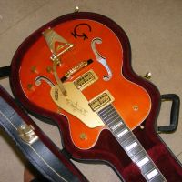 Gretsch 6120, new pickup, fretwork, setup © 2020 Guitar Angel