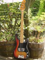 1974 Fender precision bass © 2020 Guitar Angel