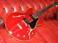 1961 Gibson es330 binding repair © 2021 Guitar Angel