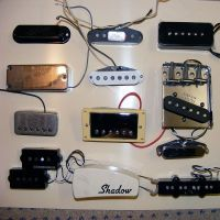 A selection of pickups © 2017 Guitar Angel