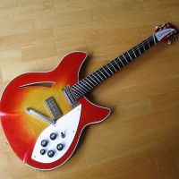 Heavily modified fanned fret conversion and restored 1984 Rickenbacker © 2017 Guitar Angel