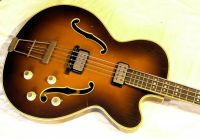 1964 Hofner President bass  recommission © 2020 Guitar Angel