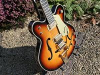 Gretsch Viking, rebound and paint repairs © 2020 Guitar Angel