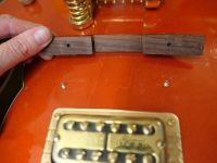 Bridge pinning mod to Gretsch 6120 © 2020 Guitar Angel