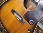 1964 Epiphone Texan, new ebony bridge and internal bridge plate © 2020 Guitar Angel