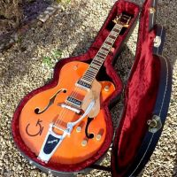Gretsch 6120 DSW Setup, service © 2021 Guitar Angel