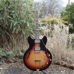 Gibson ES 335 1967 top refinish faded sunburst © 2020 Guitar Angel