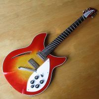 1985 Rickenbacker 330 guitar - restored and modified, fanned frets © 2020 Guitar Angel