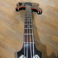 Ibanez bass guitar set up for a low action and perfect neck alignment © 2017 Guitar Angel